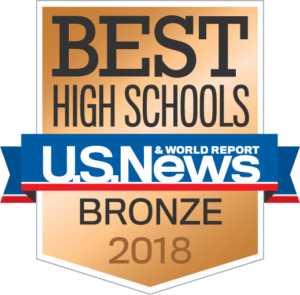 Best High Schools US News & World Report Bronze 2018